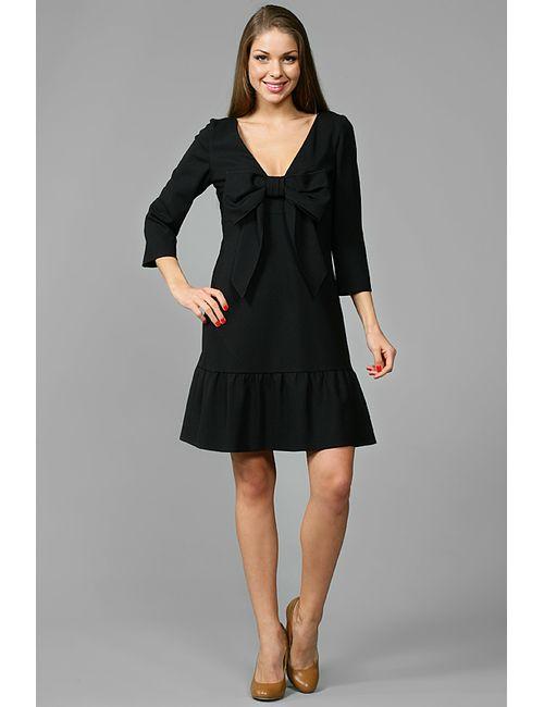 Red Valentino   Женское Чёрное Платье