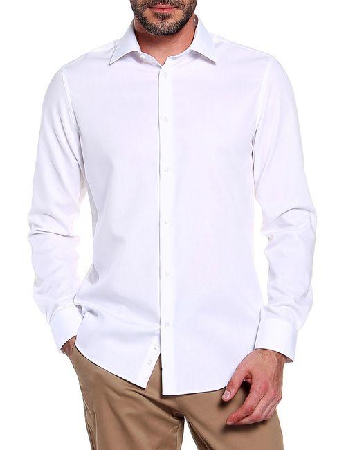 Alfred Muller | Мужская Белая Сорочка