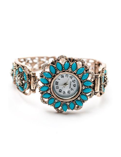 Oceania | Женский Голубой Часы-Браслет