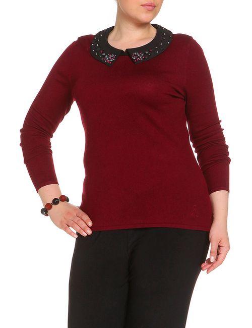 Judith Williams | Женский Красный Пуловер