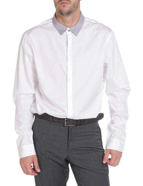 Reserved | Мужская Белая Рубашка