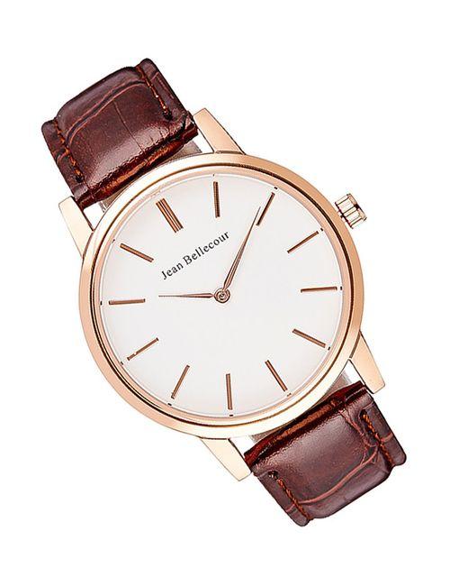 JEAN BELLECOUR | Мужские Коричневые Часы