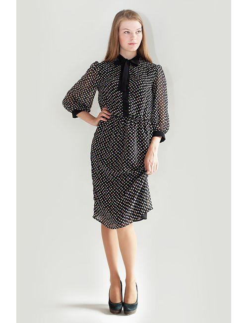 LuAnn | Женское Чёрное Платье