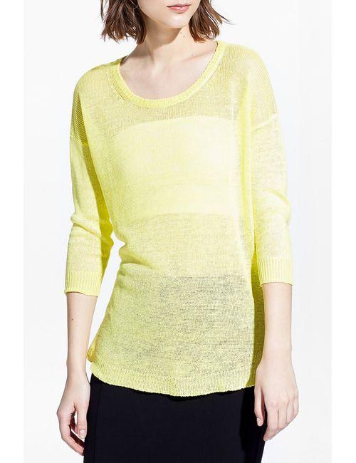 Mango | Женский Жёлтый Джемпер