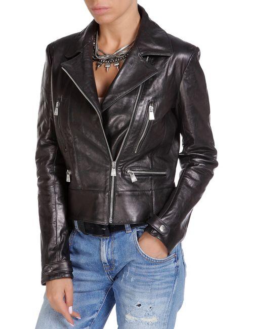 Trussardi | Женская Чёрная Куртка