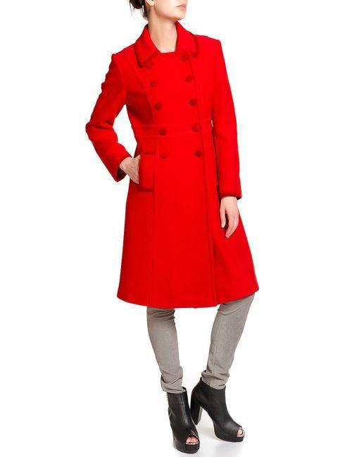 Luisa Spagnoli | Женское Красное Пальто