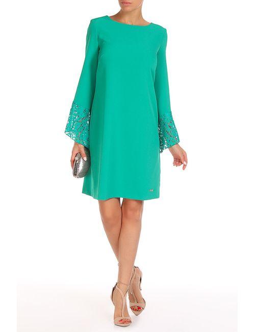 Trussardi | Женское Зелёное Платье