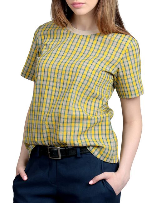 ЭНСО | Женская Жёлтая Блузка Энсо