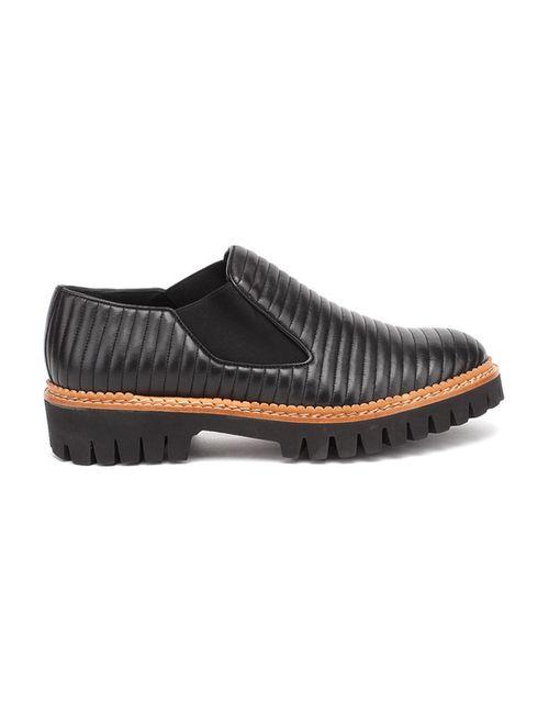 Pertini | Женские Чёрные Туфли Закрытые