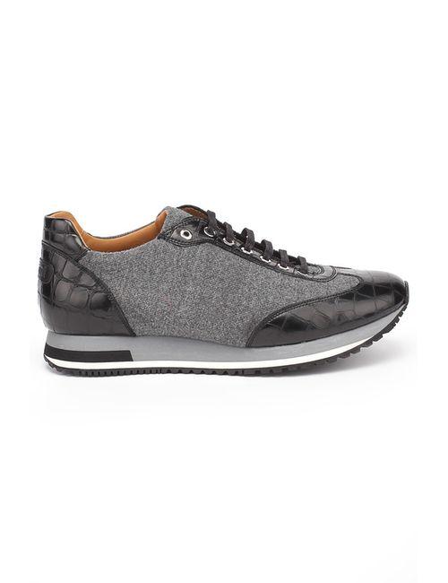 Pertini | Мужские Чёрные Туфли