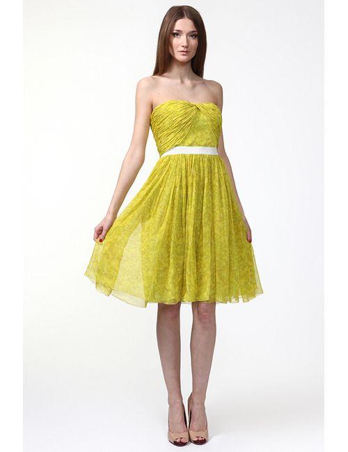 Giambattista Valli | Женское Жёлтое Платье