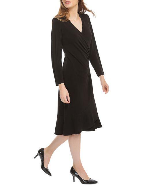 Georgede | Женское Чёрное Платье