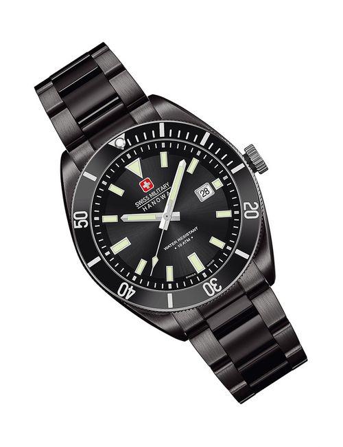 Swiss Military | Мужские Чёрные Наручные Часы