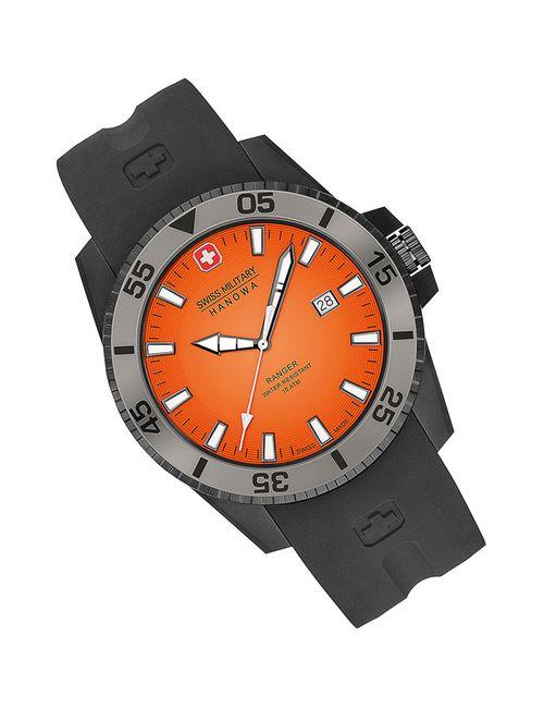 Swiss Military   Мужские Оранжевые Наручные Часы