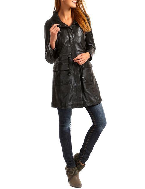 Woodland | Женская Чёрная Куртка
