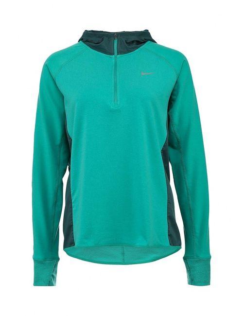 Nike | Женские Зелёные Худи