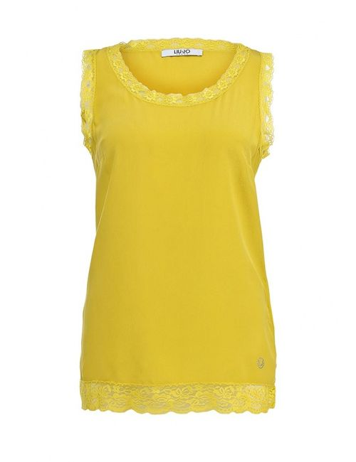 Liu •Jo Jeans | Женский Жёлтый Топ Liu Jo Jeans