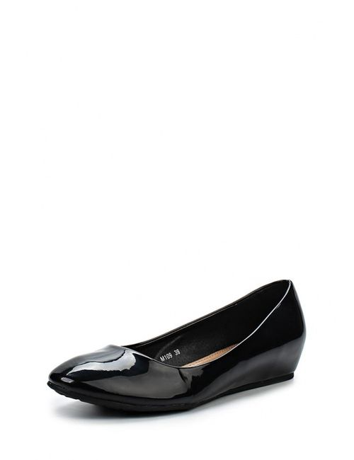 Max Shoes | Женские Чёрные Туфли