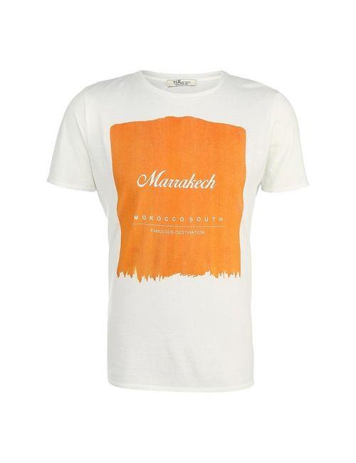 Mango Man | Мужская Белая Футболка