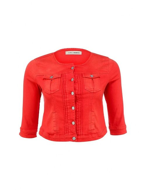 Fiorella Rubino | Женская Красная Куртка Джинсовая