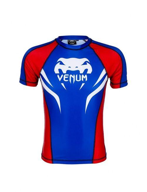 Venum | Мужская Синяя Футболка Спортивная