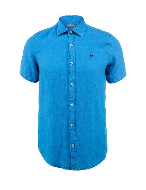 Napapijri | Мужская Синяя Рубашка