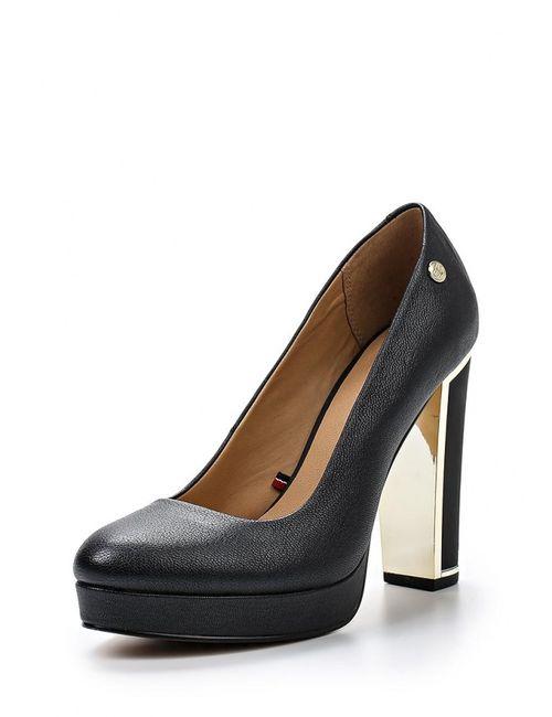 Tommy Hilfiger | Женские Чёрные Туфли