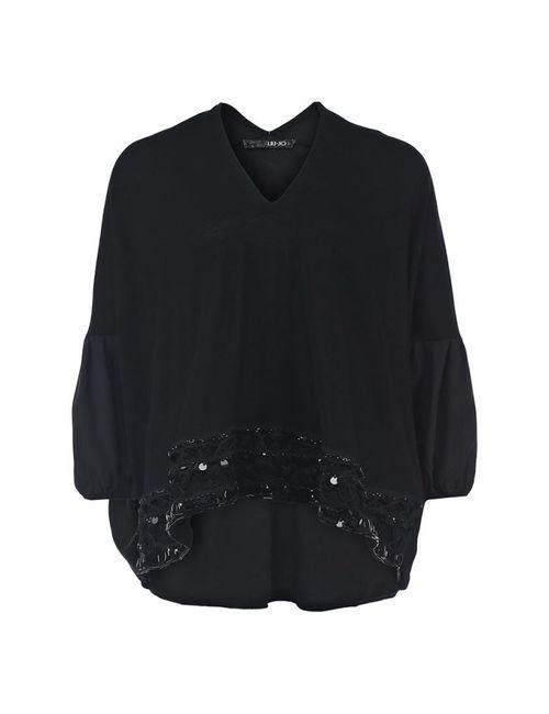 Liu •Jo | Женский Чёрный Пуловер Liu Jo