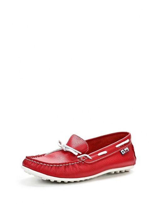 Beppi | Женские Красные Мокасины