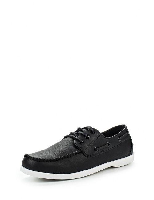 WS Shoes | Мужские Чёрные Топсайдеры