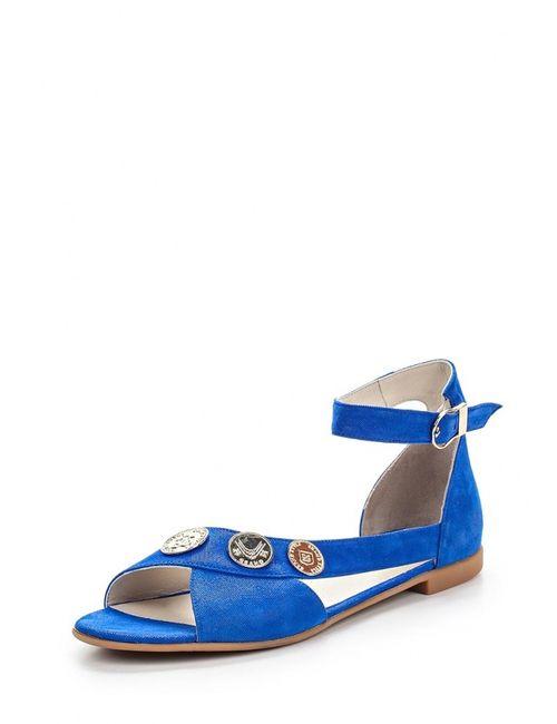 Grand Style | Женские Синие Сандалии