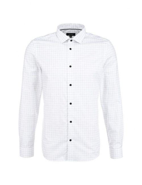 River Island | Мужская Белая Рубашка