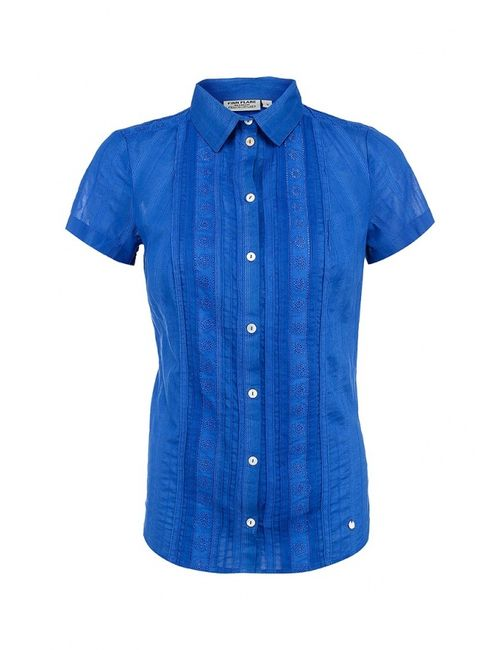 Finn Flare   Женская Синяя Блуза