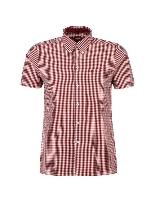 Merc   Мужская Красная Рубашка