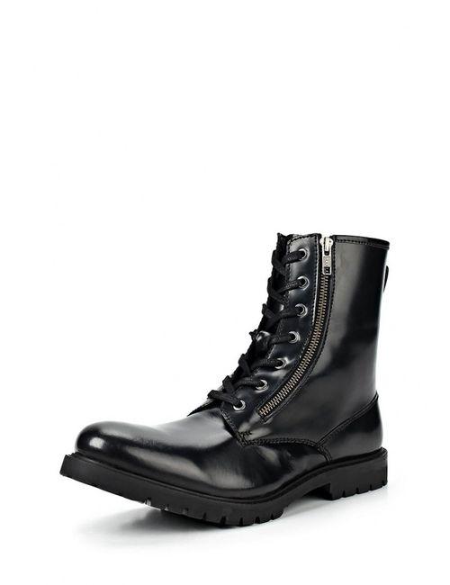 Paolo Vandini | Мужские Чёрные Ботинки