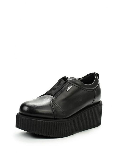 Karl Lagerfeld | Женские Чёрные Ботинки