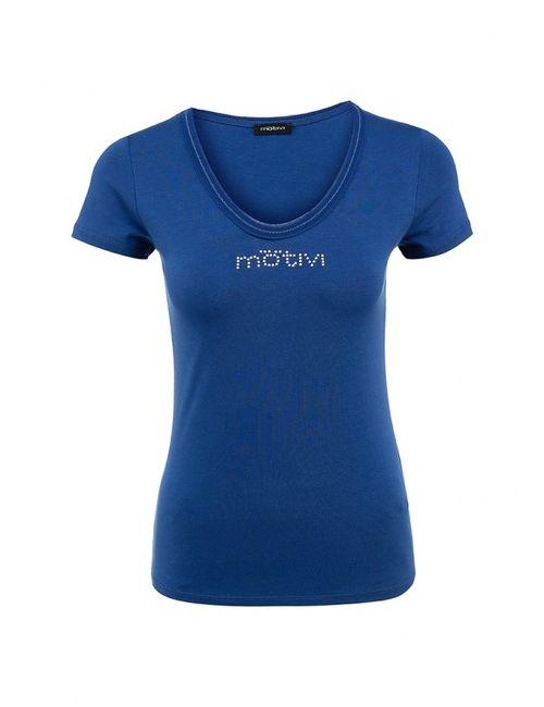 MOTIVI | Женская Синяя Футболка