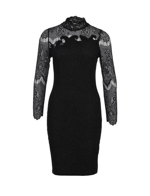 Lamania | Женское Чёрное Платье