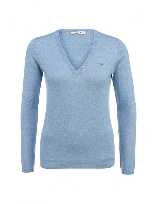 Lacoste | Женский Голубой Пуловер