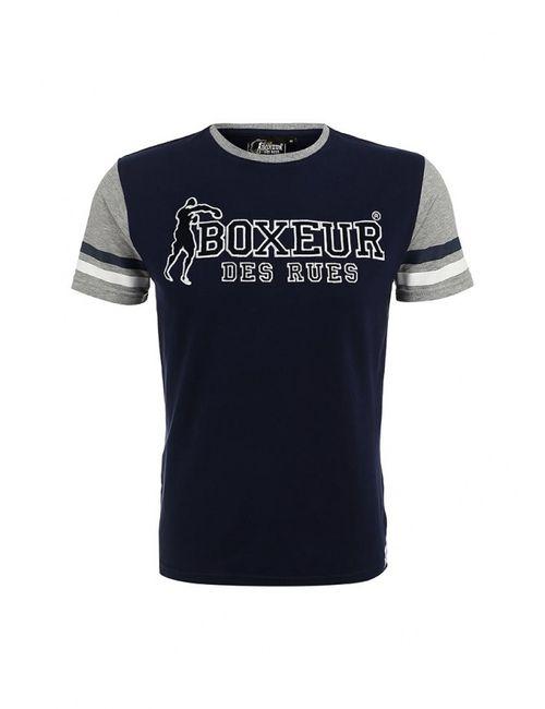 Boxeur Des Rues | Мужская Синяя Футболка