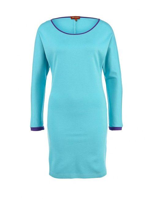 Анна Чапман   Женское Голубой Платье