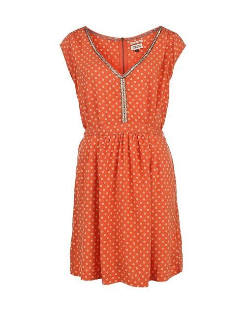 Tommy Hilfiger | Женское Оранжевое Платье
