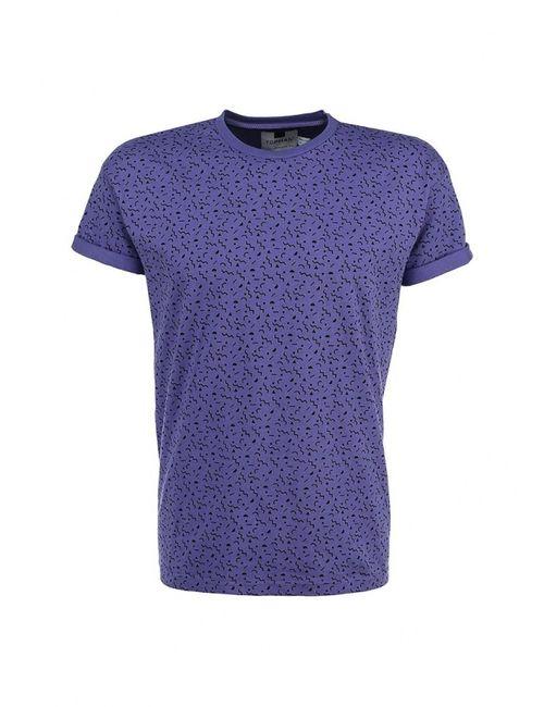 Topman | Мужская Фиолетовая Футболка