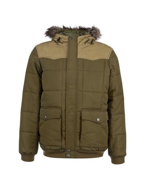 Levi's® | Мужская Хаки Куртка Утепленная