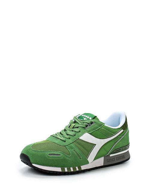 Diadora | Мужские Зелёные Кроссовки