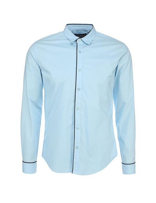 McCrain | Мужская Голуба Рубашка
