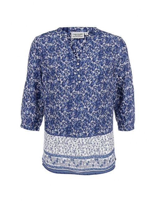 Finn Flare | Женская Синяя Рубашка