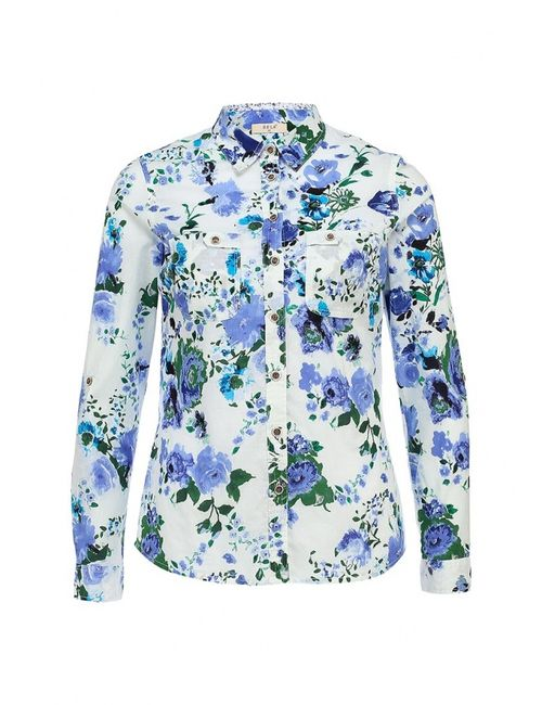 Sela | Женская Белая Блуза