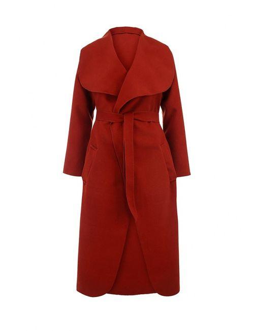Edge Clothing | Женское Коричневое Пальто