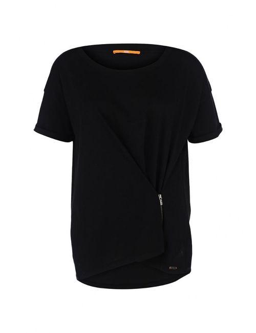 BOSS Orange   Женская Чёрная Футболка